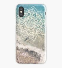 Ocean Mandala iPhone Case