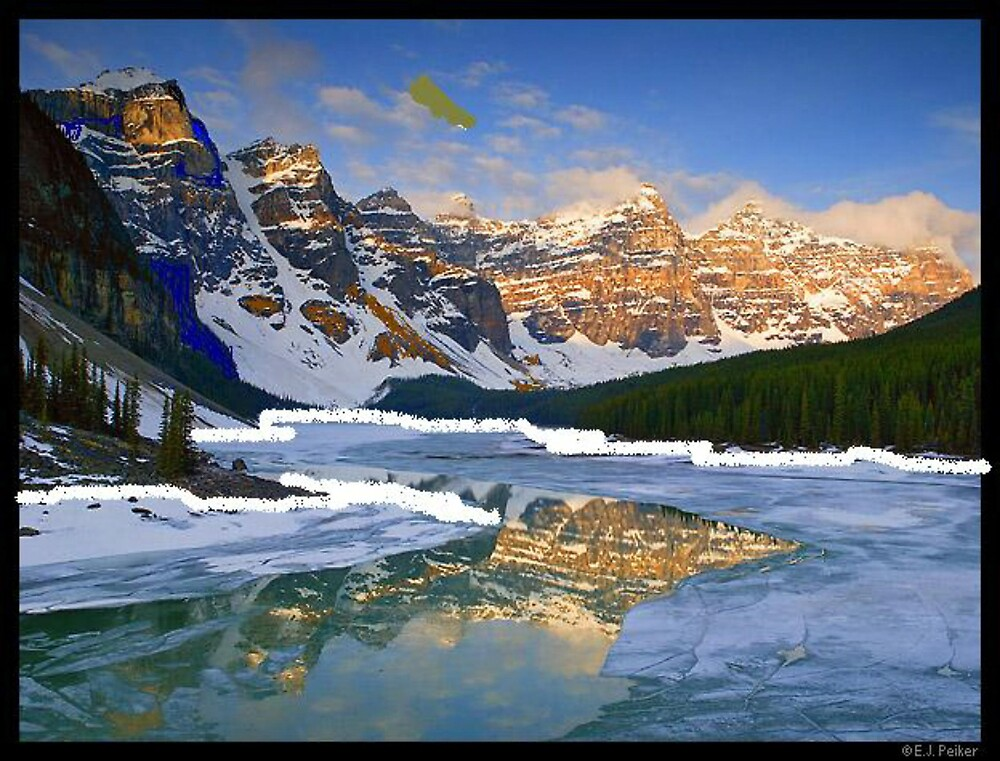 morraine lake by oilersfan11
