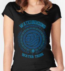 Waterbending university Fitted Scoop T-Shirt