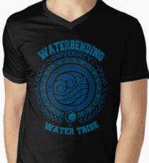 Waterbending university V-Neck T-Shirt