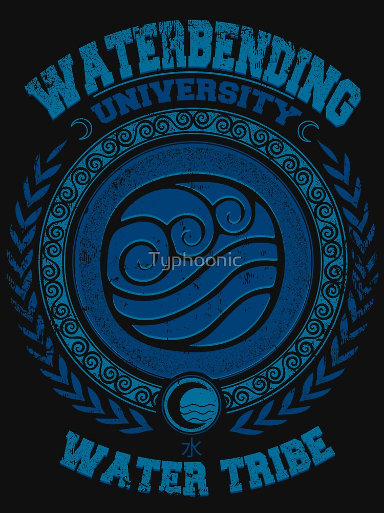 Waterbending university by Typhoonic