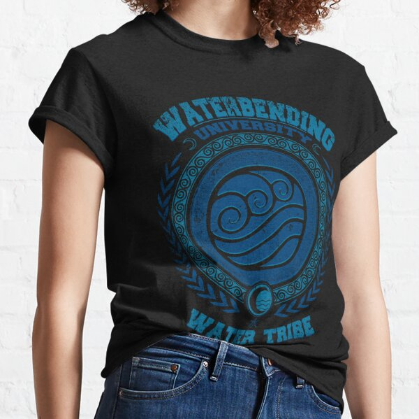 Avatar Waterbending - Katara university - Korra Water tribe - Avatar last airbender Classic T-Shirt