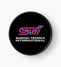 Subaru STI Clock