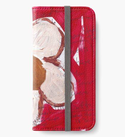 Note Flower iPhone Wallet