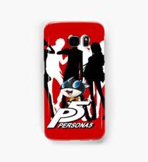 Persona 5 protagonist silhouette Samsung Galaxy Case/Skin