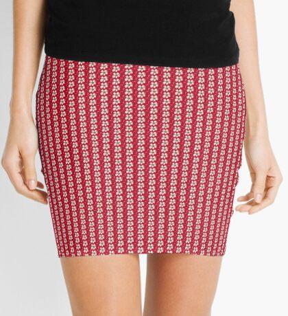 Note Flower Mini Skirt