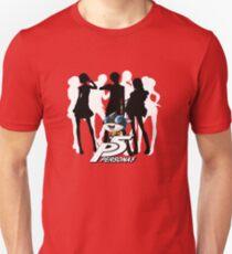 Persona 5 protagonist silhouette Unisex T-Shirt