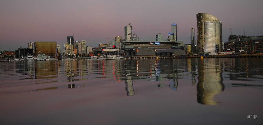 Docklands @ Sunset by arip