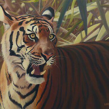 Binjai - Sumatran tigress by wildatart