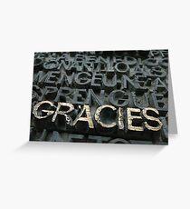 Gracies Greeting Card