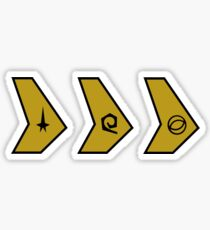 Star trek TOS uss Defiant patch Sticker