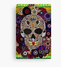 Dark skull Canvas Print