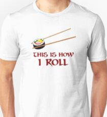 c192aad8 This Is How I Sushi Roll Slim Fit T-Shirt