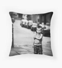 Discontent Throw Pillow