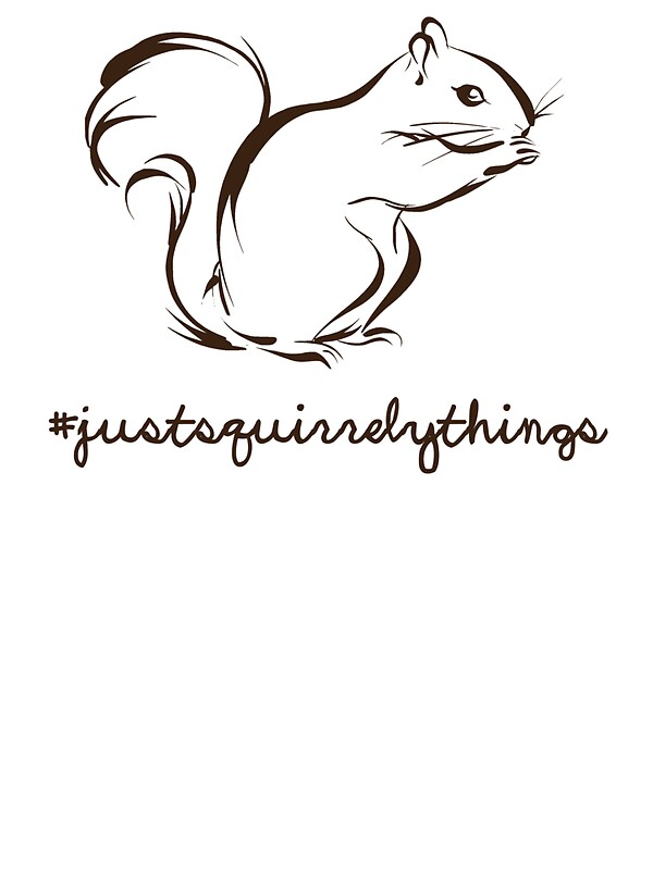 Just squirrely things squirrel by theshirtyurt