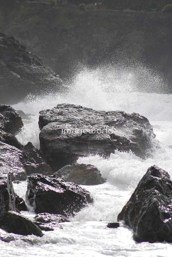 Cornish Surf by imageworld