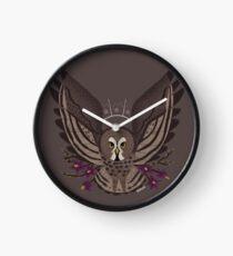 Familiar - Great Grey Owl Clock