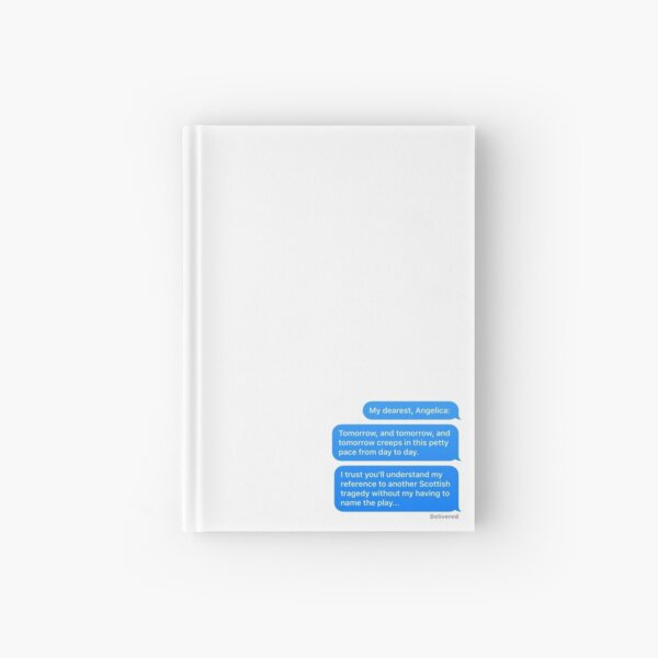My Dearest, Angelica Hardcover Journal