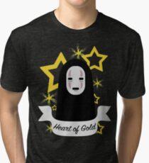 No Face Heart of Gold Tri-blend T-Shirt