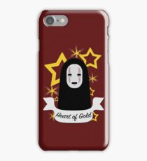No Face Heart of Gold iPhone Case/Skin