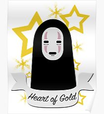 No Face Heart of Gold Poster