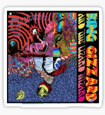 King Gizzard and the Wizard Lizard Sticker