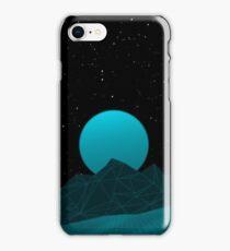Vaporwave Phone Case (Blue Glow) iPhone Case/Skin