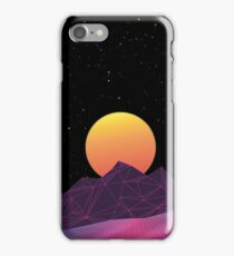 Vaporwave Phone Case (Yellow) iPhone Case/Skin