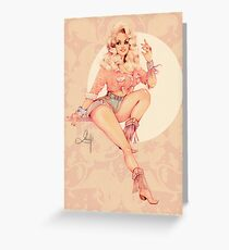 Sweet Dolly Greeting Card