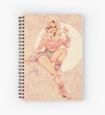 Sweet Dolly Spiral Notebook