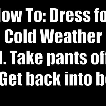 The Cold: A How To Guide by ItsIronic