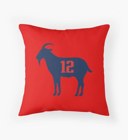 TB Goat 12 Throw Pillow