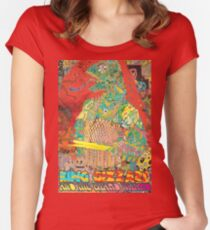 King Gizzard and the Wizard Lizard Women's Fitted Scoop T-Shirt