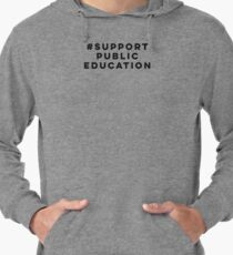 Public Education Lightweight Hoodie