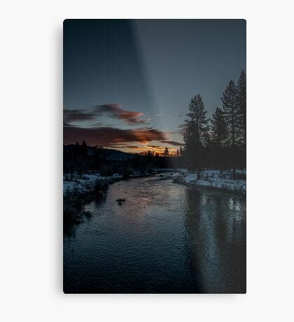 Red skys in the morning Metal Print
