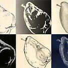 Pear Motif by Marilyn Brown