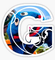 G is for grover Sticker