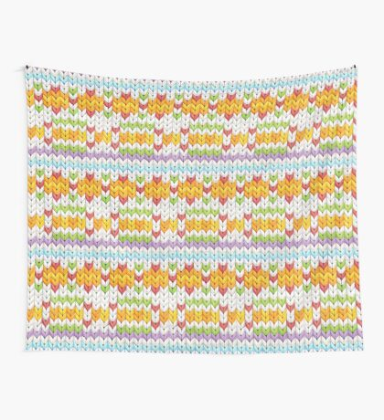 Witty Knitty Fair Isle Wall Tapestry