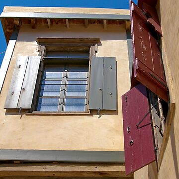 Windows and Shutters by pluffy