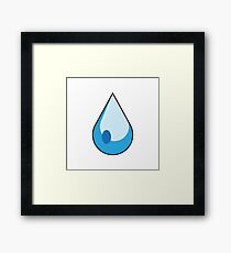 Merit - Cascade Framed Print