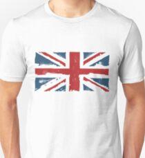 SCRUFFY UNION JACK Unisex T-Shirt