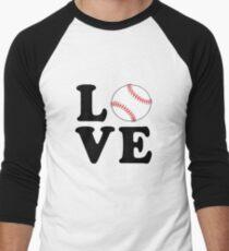 Love Baseball Men's Baseball ¾ T-Shirt