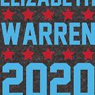 Elizabeth Warren 2020 von kjanedesigns