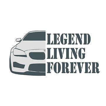 LEGEND LIVING FOREVER by thomasoscar