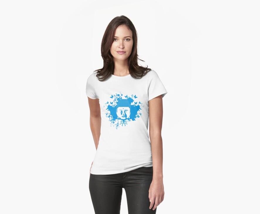 BUDDHA BUDDIE by Awesome Rave T-Shirts