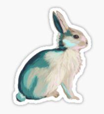 Colour bunny too Sticker