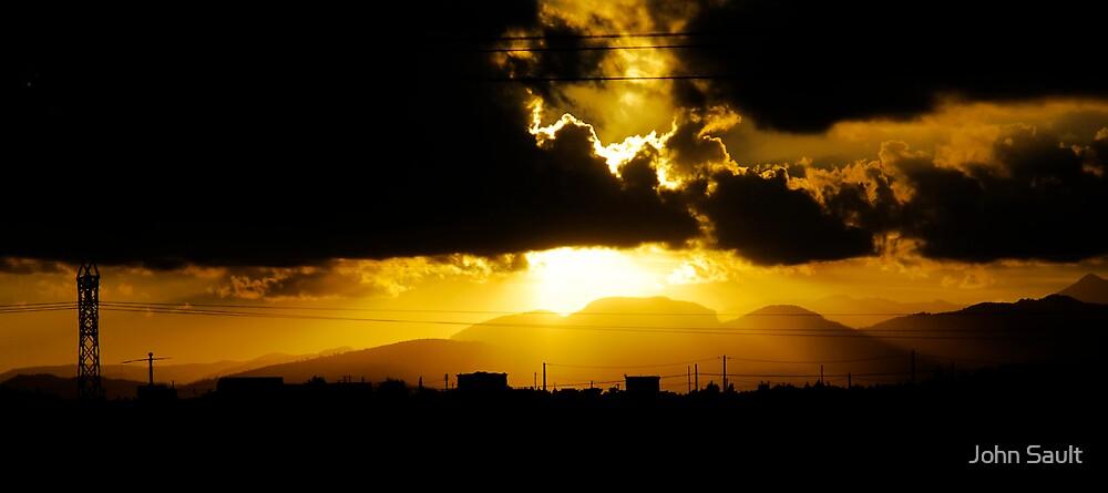 Sunset by John Sault