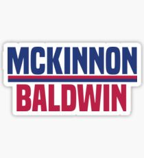Mckinnon Baldwin  Sticker