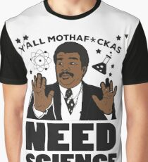 Best Seller: Y All Motherfuckers Need Science Graphic T-Shirt