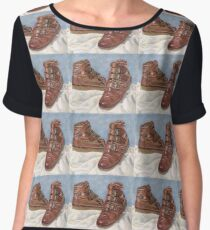 My  Old Boots Chiffon Top